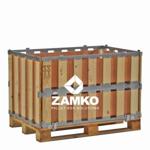 Transport Packaging with folding window
