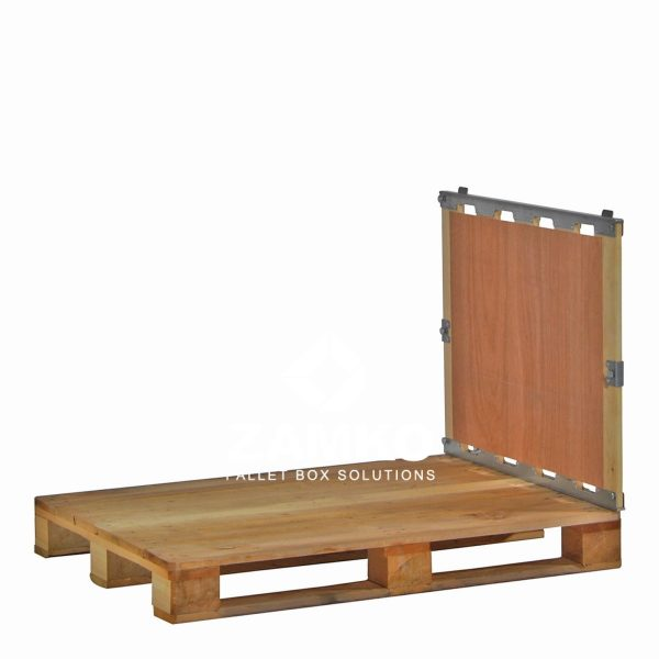 Stillages with detachable walls