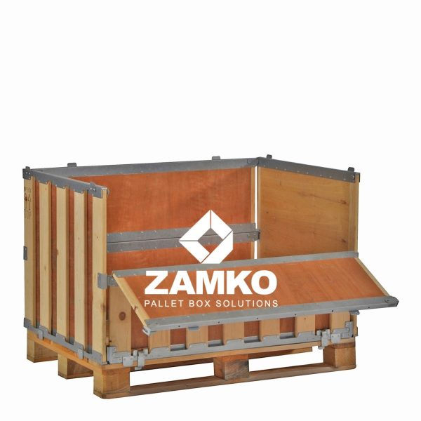 Pallet Containers with folding window