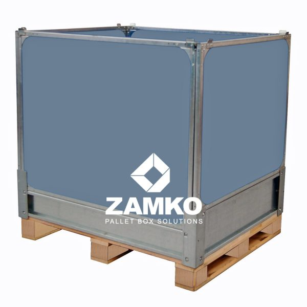 Plastic Pallet Box foldable walls