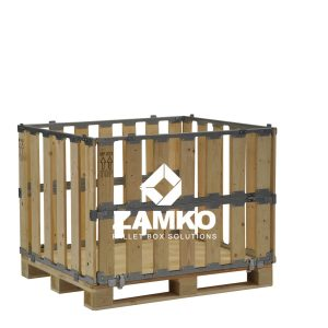 Storage Crates with folding windows