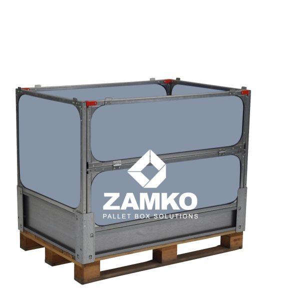 Palletbox Kunststof, opvouwbaar