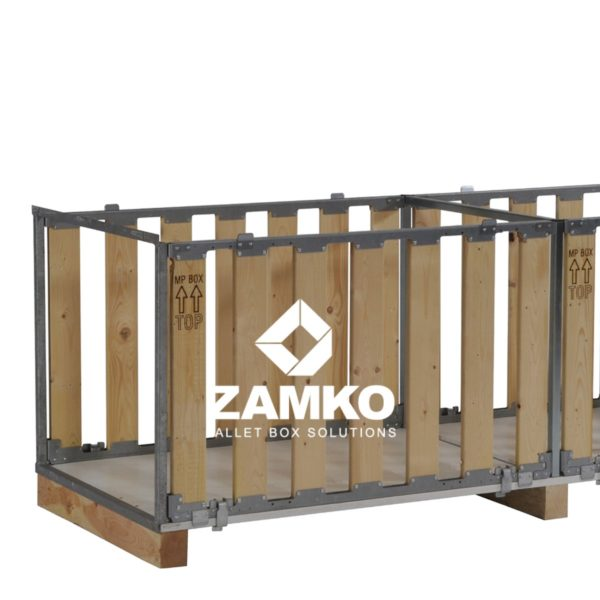 Pallet Boxes for long goods