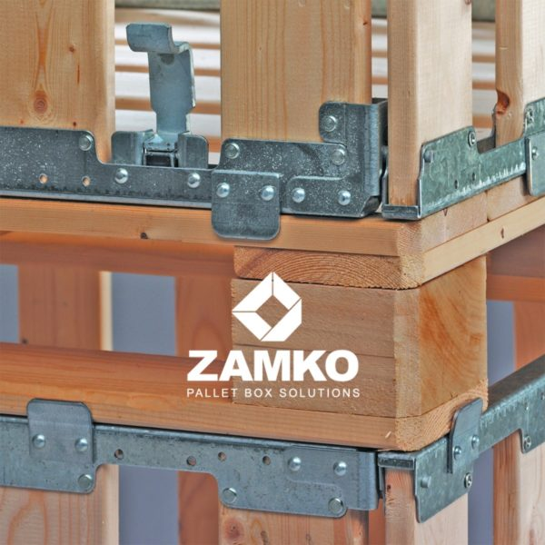 Folding cage with wide planks
