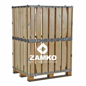 Collapsible Pallet Boxes double height