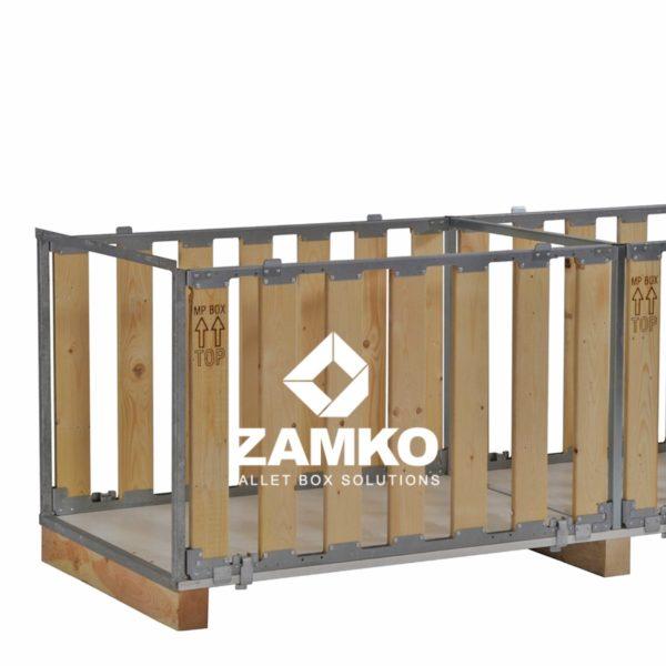 Palletboxen voor lange goederen, inklapbaar