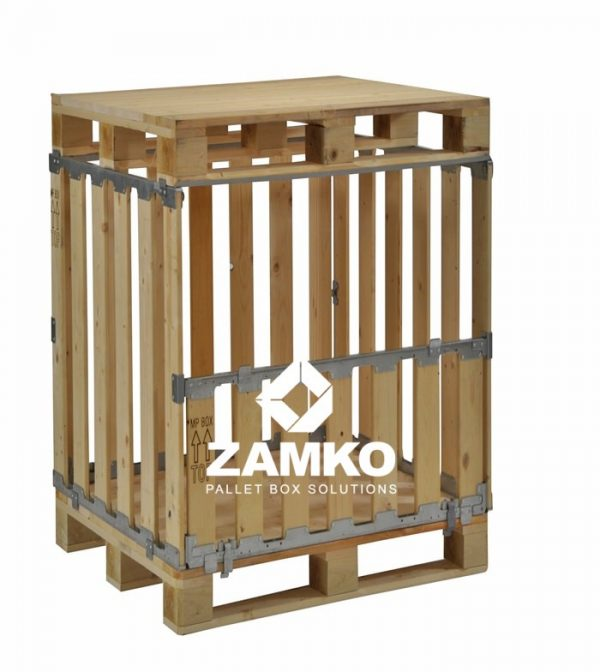 Pallet Container with Folding Window