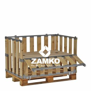 Productdisplay op pallet