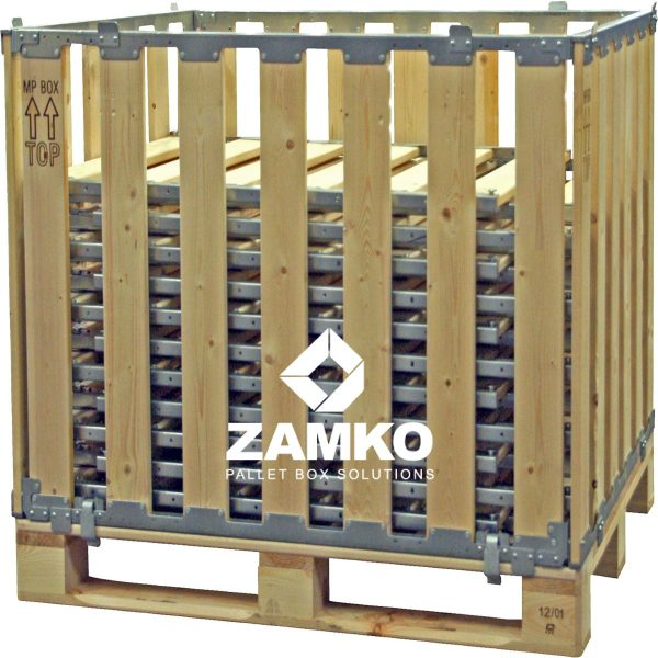 Pallet Containers double height