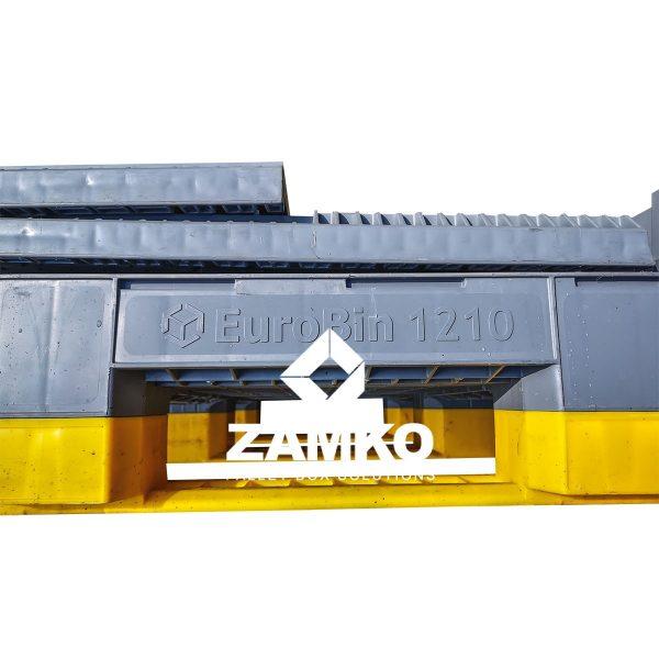 Eurobin 1210 Gebruikte Palletbox Kunststof
