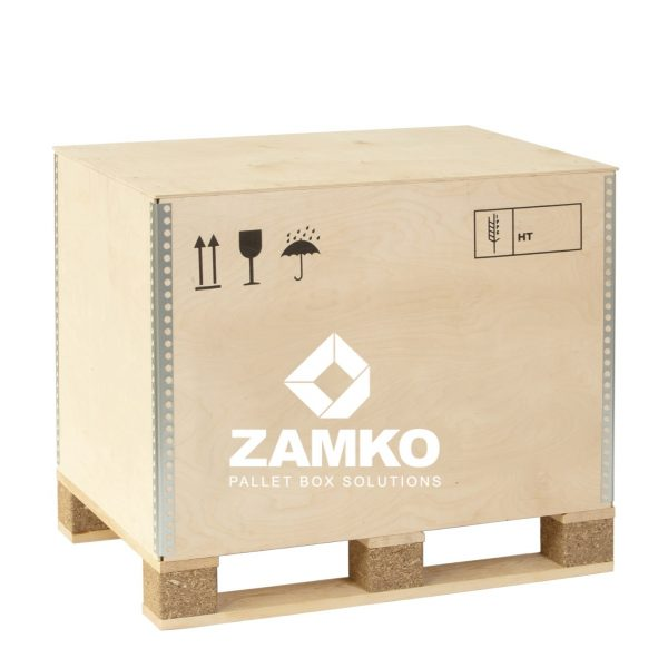 Plywood Pallet Boxes Izibox