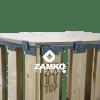 Houten deksel voor palletbox opzetwanden