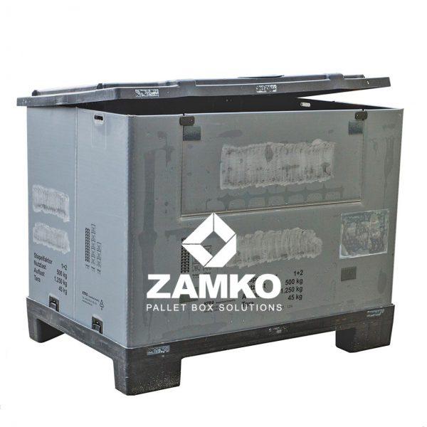 Plastic Pallet Box Used