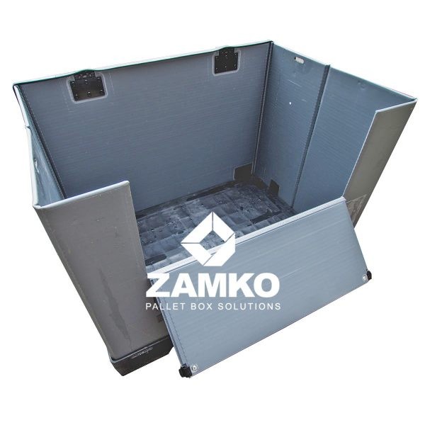Plastic Box Pallets Used