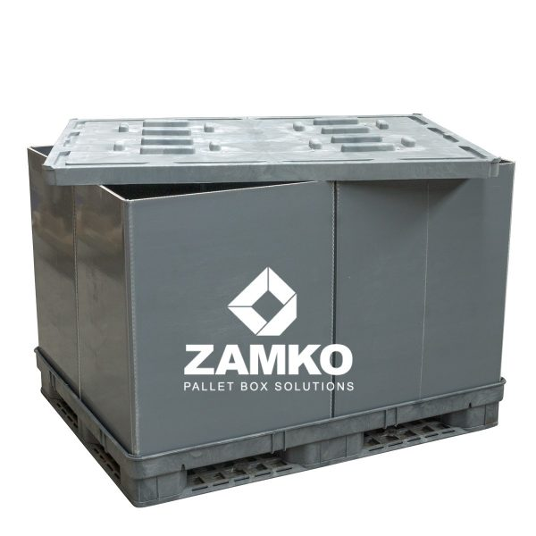 Plastic Pallet Containers Used