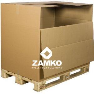 Palettenbox Karton