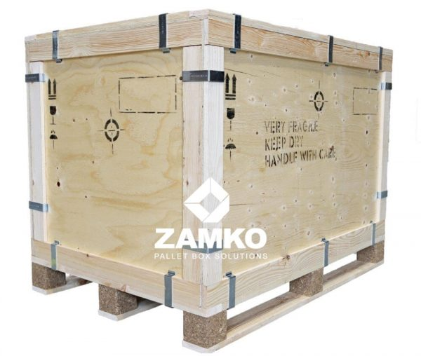 Multiplex Palletkisten Clipbox Lange Goederen