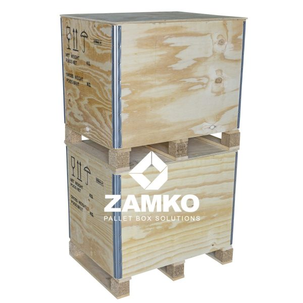 Wooden Pallet Boxes Isibox