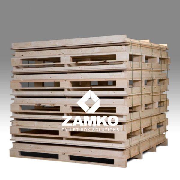 Palettenboxen Sperrholz Langgutgestelle Clipbox