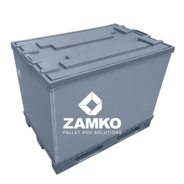 Plastic Pallet Boxes Used