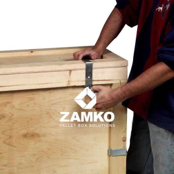Faltkiste Sperrholz Langgutgestelle Clipbox