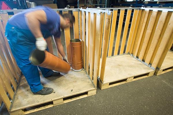 Begehbare Palettenboxen - Palettenboxen aus Holz