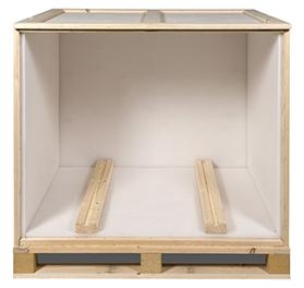 Exportboxen - houten palletboxen