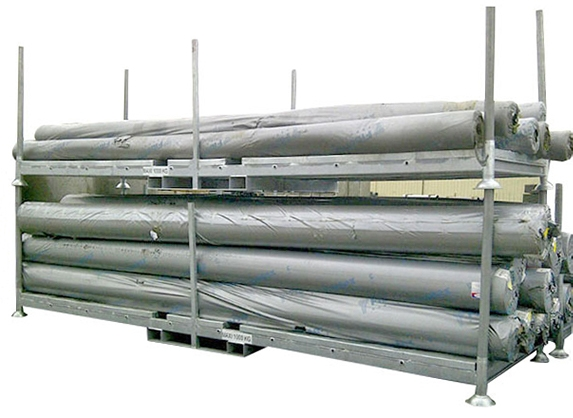 Stackable long good racks
