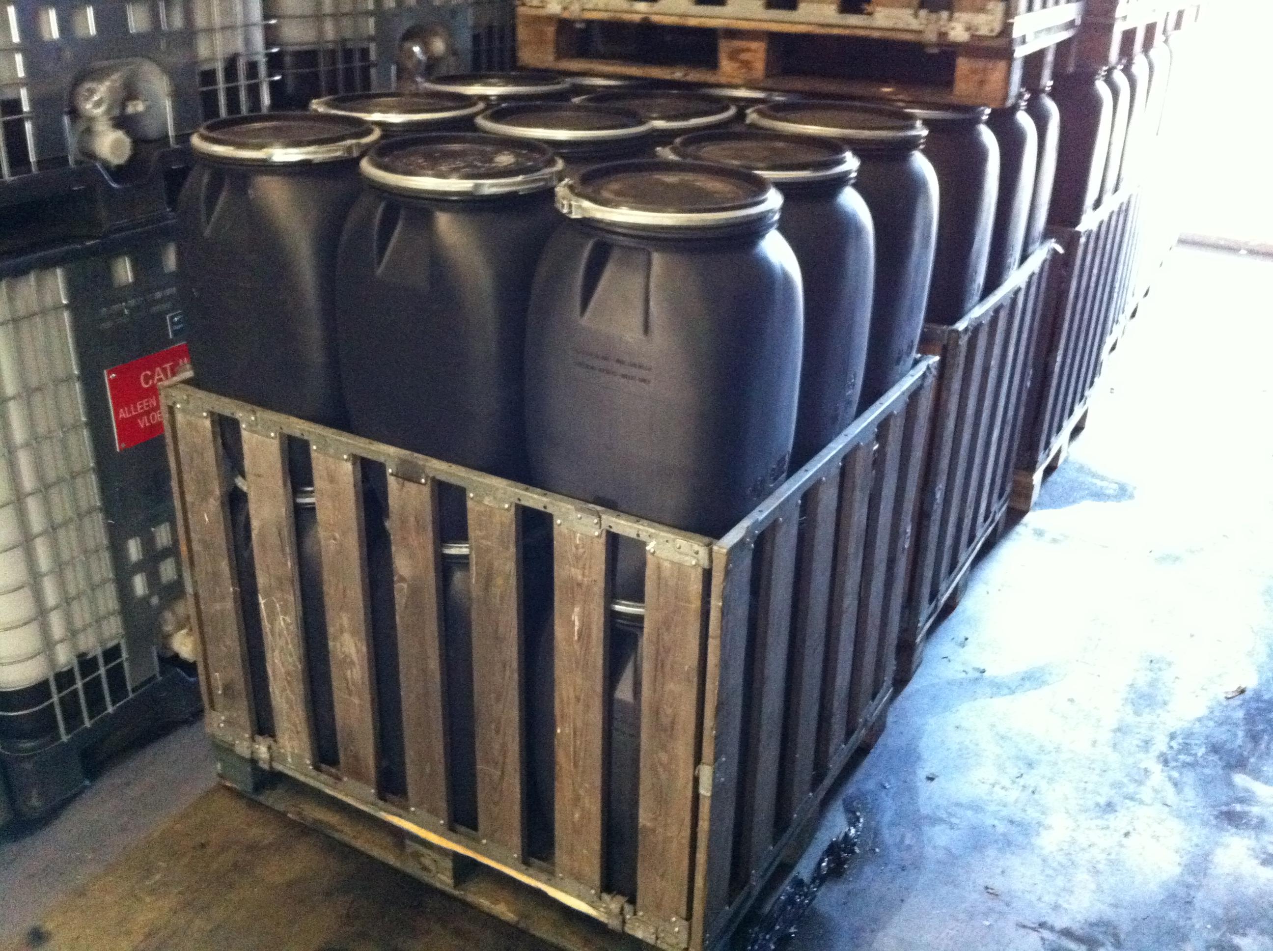 E-waste - maatwerk palletboxen