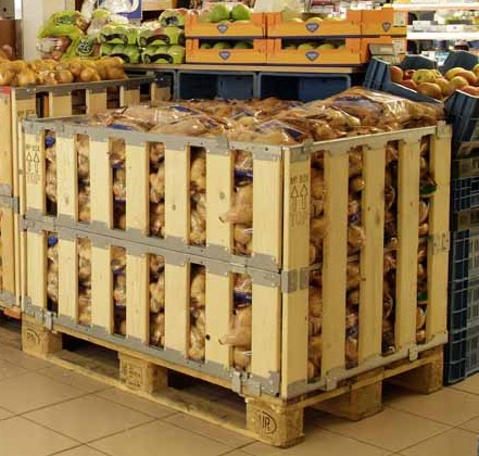 Instore retail palletbox - non food