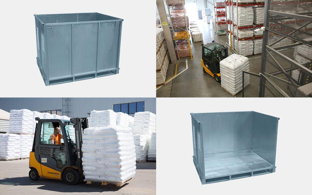 Retourverpakkingen in de rubberindustrie
