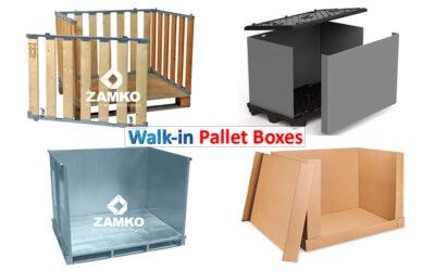 Inloop Palletboxen:  sneller en veiliger voor het laden en lossen van palletboxen