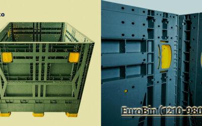 Warum ist der EuroBin 1210-980 die perfekte Transport- und Lagerungslösung?