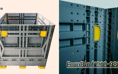Why is the EuroBin (1210-980) the perfect transport and storage  solution?