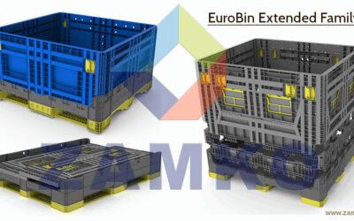 Was macht die EuroBin Extended Family zur besten Logistiklösung für Automobil-, Industrie- und Militärteile?