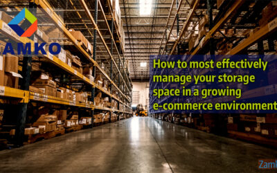 How to most effectively manage your warehouse space in a growing e-commerce environment