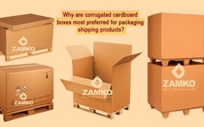 Why are Corrugated Cardboard Boxes most preferred for packaging shipping products?